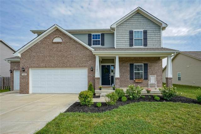 1101 W Limestone Way, Fortville, IN 46040 (MLS #21728989) :: Richwine Elite Group