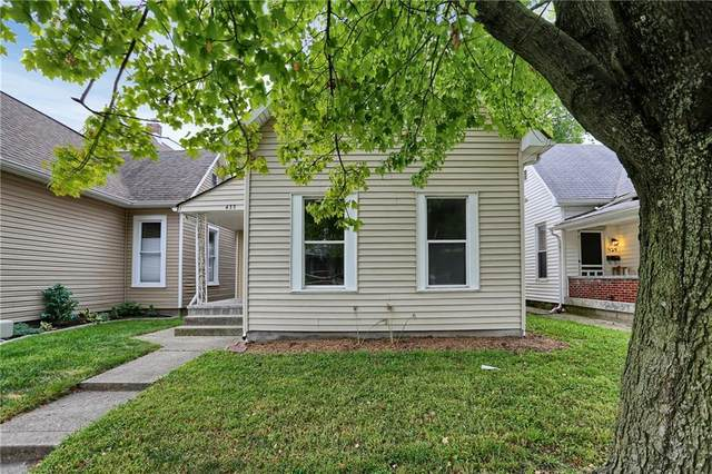 433 Sanders Street, Indianapolis, IN 46225 (MLS #21729245) :: Mike Price Realty Team - RE/MAX Centerstone