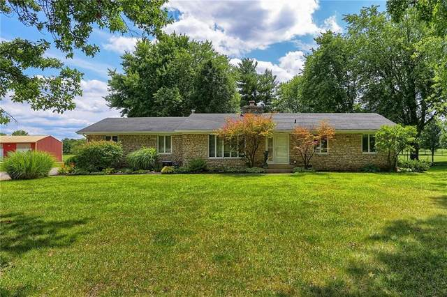 1431 W Stones Crossing Road, Greenwood, IN 46143 (MLS #21729959) :: Richwine Elite Group