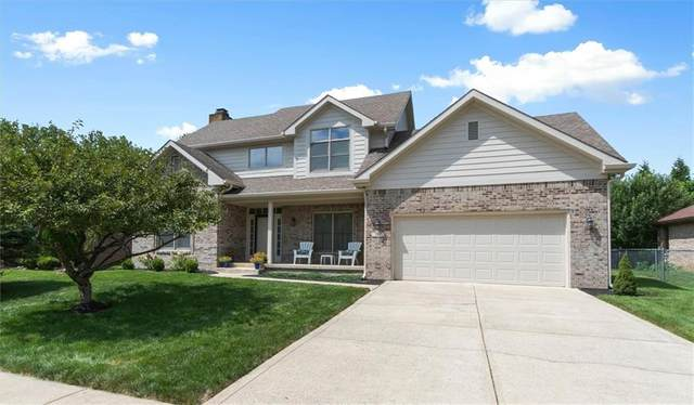 707 Viewpoint Drive, Plainfield, IN 46168 (MLS #21731622) :: Dean Wagner Realtors