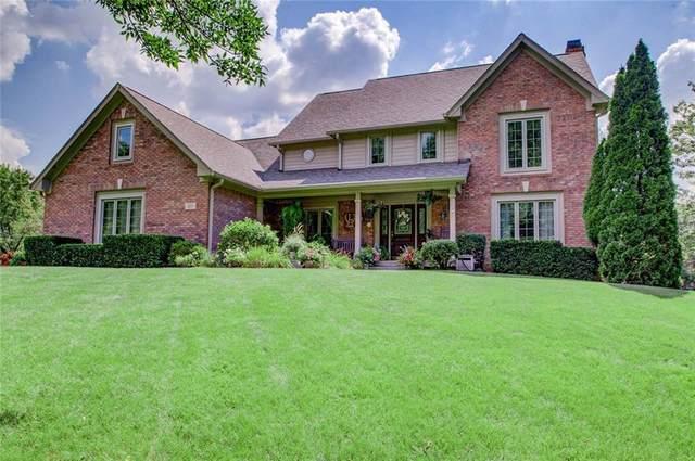 3657 Eagle Nest Drive, Greenwood, IN 46143 (MLS #21732192) :: Corbett & Company