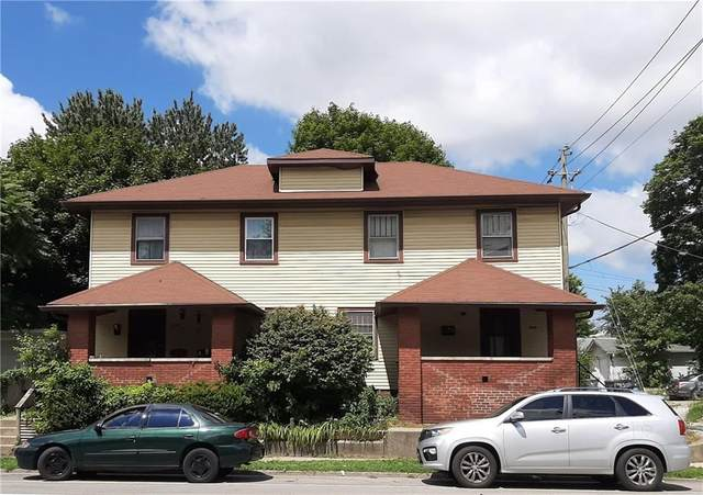 5046 E Michigan Street, Indianapolis, IN 46201 (MLS #21732357) :: The ORR Home Selling Team
