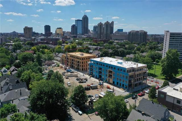 877 N East Street 201-A, Indianapolis, IN 46202 (MLS #21732389) :: Dean Wagner Realtors