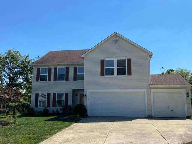 1243 Bentley Way, Carmel, IN 46032 (MLS #21732727) :: Anthony Robinson & AMR Real Estate Group LLC