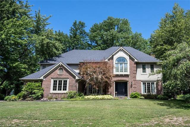10954 Windjammer N Drive, Indianapolis, IN 46256 (MLS #21732742) :: Mike Price Realty Team - RE/MAX Centerstone