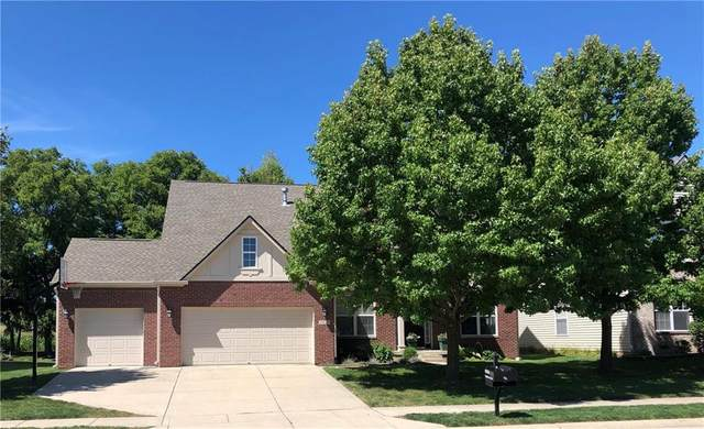 16216 Dandborn Drive, Westfield, IN 46074 (MLS #21733008) :: David Brenton's Team