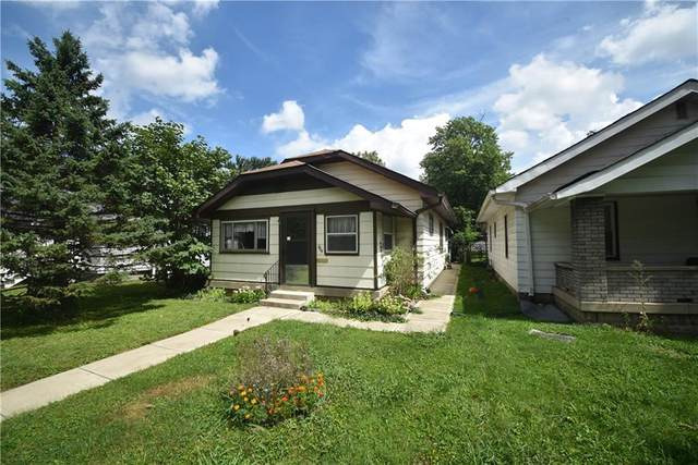805 N Tuxedo Street, Indianapolis, IN 46201 (MLS #21734272) :: Anthony Robinson & AMR Real Estate Group LLC