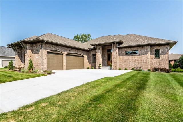 2712 Silver Oaks Drive, Carmel, IN 46032 (MLS #21734339) :: The Evelo Team