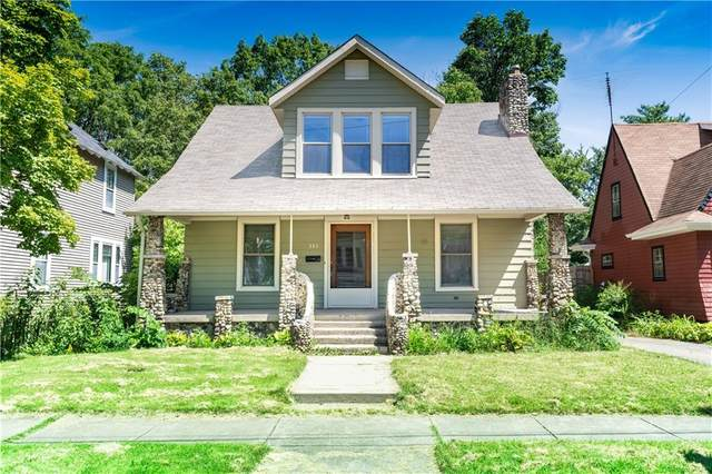 333 N Whittier Place, Indianapolis, IN 46219 (MLS #21735138) :: Mike Price Realty Team - RE/MAX Centerstone