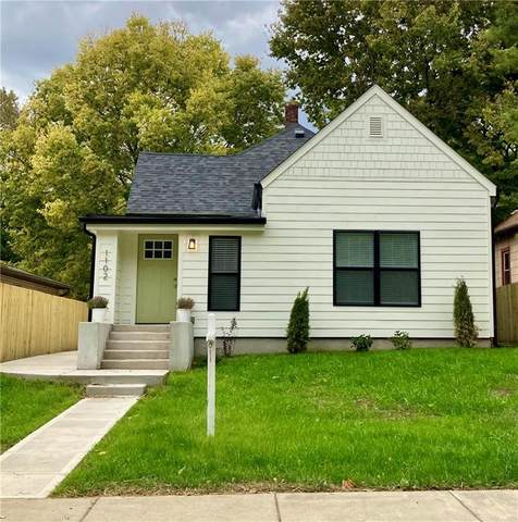 1102 Newman Street, Indianapolis, IN 46201 (MLS #21735425) :: Ferris Property Group