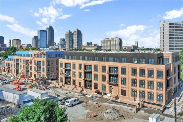 855 N East Street 402-B, Indianapolis, IN 46202 (MLS #21736209) :: JM Realty Associates, Inc.