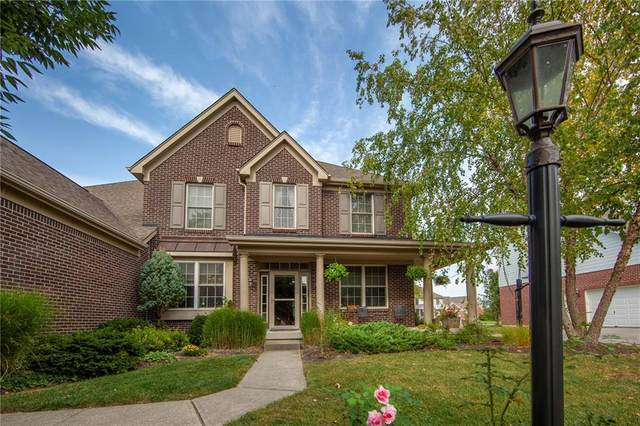 11834 Floral Hall Place, Fishers, IN 46037 (MLS #21737508) :: Mike Price Realty Team - RE/MAX Centerstone
