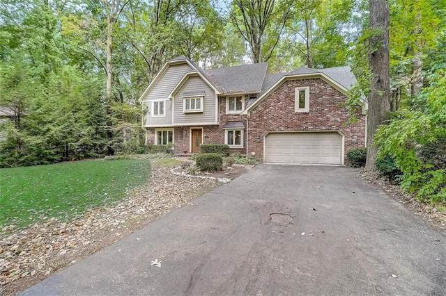 7414 Shadow Wood Drive, Indianapolis, IN 46254 (MLS #21738166) :: Mike Price Realty Team - RE/MAX Centerstone