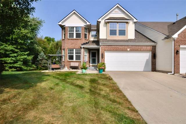 3364 Eaton Mews Court, Greenwood, IN 46143 (MLS #21738527) :: AR/haus Group Realty