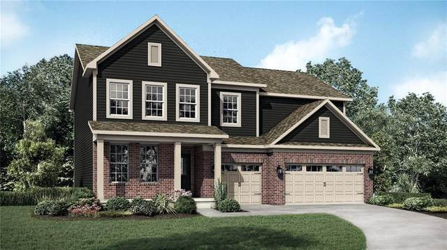 8809 Linton Lane, Brownsburg, IN 46112 (MLS #21738893) :: The ORR Home Selling Team