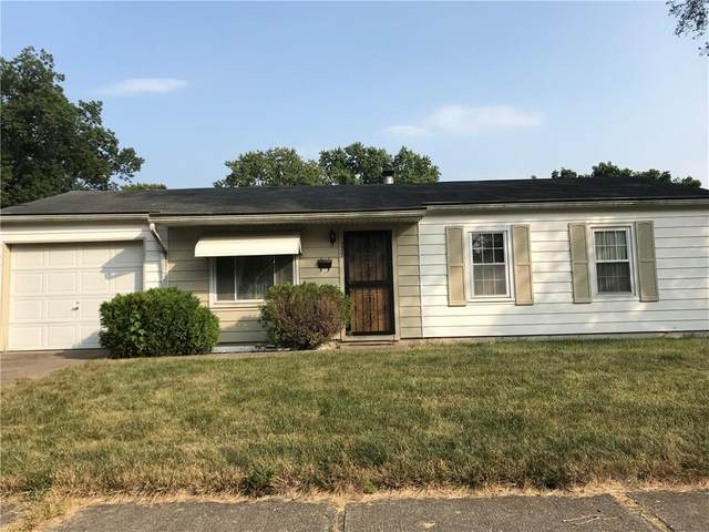 3537 Gerrard Avenue, Indianapolis, IN 46224 (MLS #21739104) :: Mike Price Realty Team - RE/MAX Centerstone