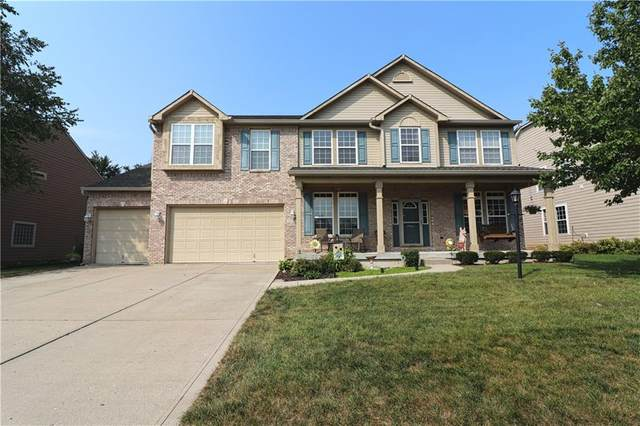 8142 Grassy Meadow Lane, Indianapolis, IN 46259 (MLS #21739425) :: Heard Real Estate Team | eXp Realty, LLC