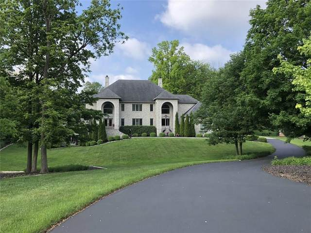 410 Breakwater Drive, Fishers, IN 46037 (MLS #21739955) :: Anthony Robinson & AMR Real Estate Group LLC