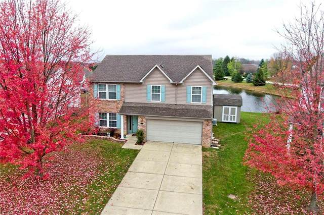 4532 W Woodtrail Court, New Palestine, IN 46163 (MLS #21740391) :: Mike Price Realty Team - RE/MAX Centerstone
