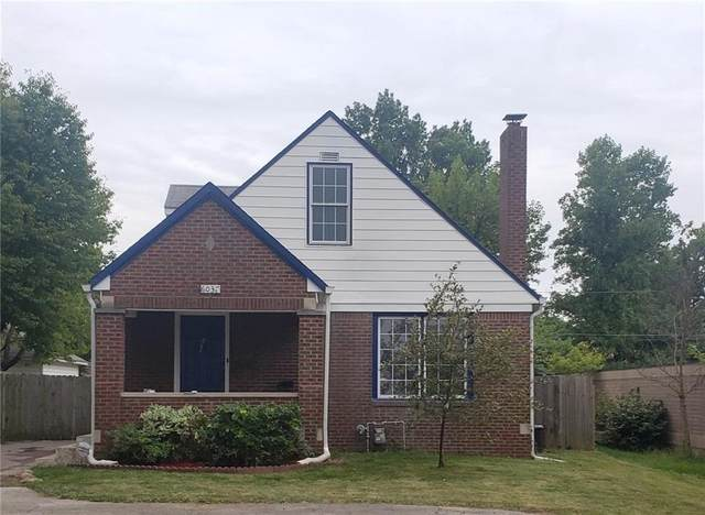 6037 E 10th Street, Indianapolis, IN 46219 (MLS #21740696) :: Richwine Elite Group