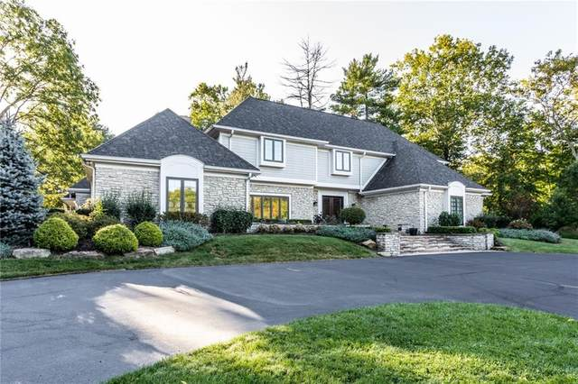 733 Pine Drive, Indianapolis, IN 46260 (MLS #21742004) :: AR/haus Group Realty