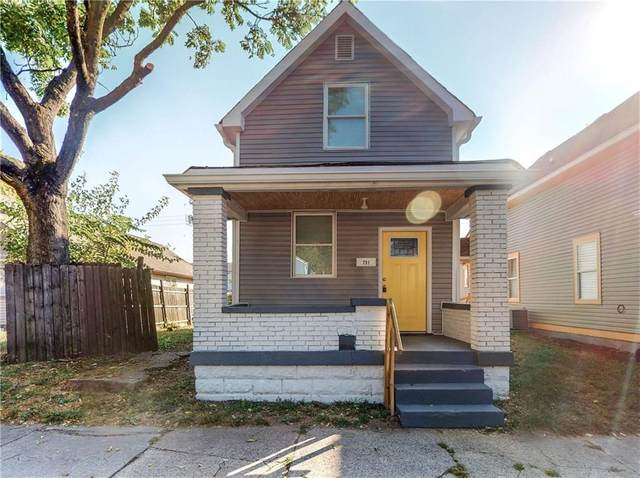 731 N Arnolda Avenue, Indianapolis, IN 46222 (MLS #21742339) :: The Indy Property Source