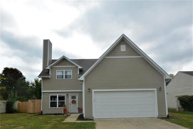 9207 Crossing Drive, Fishers, IN 46037 (MLS #21742412) :: AR/haus Group Realty