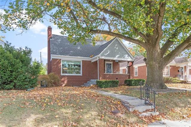 1245 N Downey Avenue, Indianapolis, IN 46219 (MLS #21742520) :: The Evelo Team