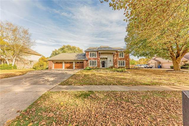 3759 E Carmel Drive, Carmel, IN 46033 (MLS #21742622) :: The ORR Home Selling Team