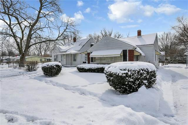 4821 E 21st Street, Indianapolis, IN 46218 (MLS #21742654) :: Dean Wagner Realtors