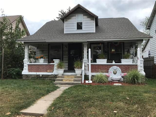 1550-52 S Belmont Avenue, Indianapolis, IN 46221 (MLS #21743041) :: AR/haus Group Realty