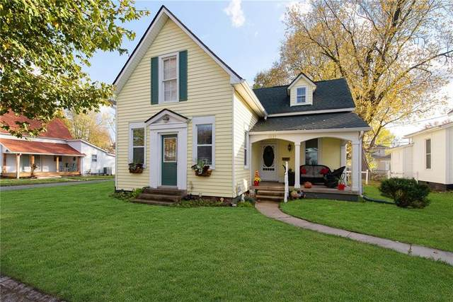 1237 Clinton Street, Noblesville, IN 46060 (MLS #21743229) :: The ORR Home Selling Team