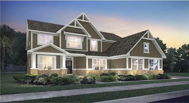 8165 Oakley Terrace, Zionsville, IN 46077 (MLS #21744385) :: Richwine Elite Group