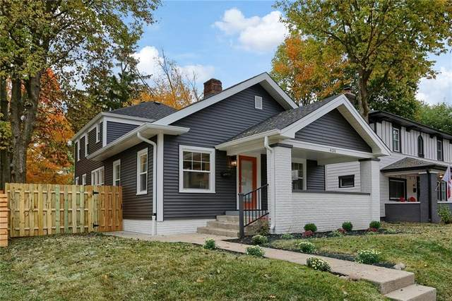 4133 Ruckle Street, Indianapolis, IN 46205 (MLS #21745558) :: The Evelo Team