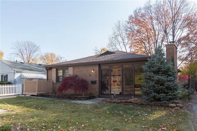2249 Kessler Blvd E Drive, Indianapolis, IN 46220 (MLS #21745873) :: The ORR Home Selling Team