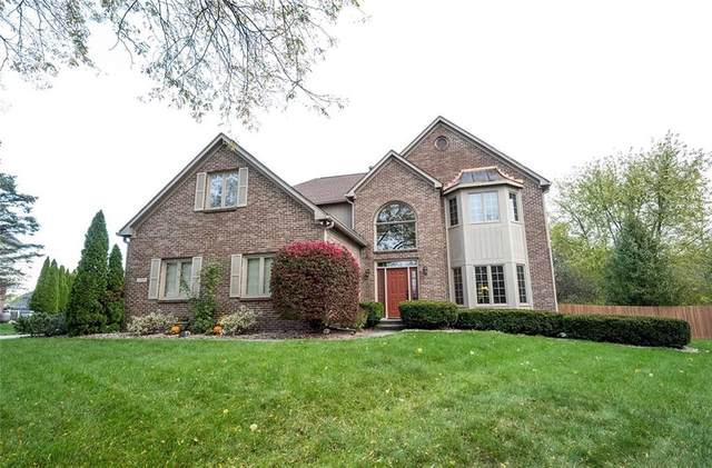 11704 Sea Star Circle, Fishers, IN 46037 (MLS #21745949) :: The Evelo Team