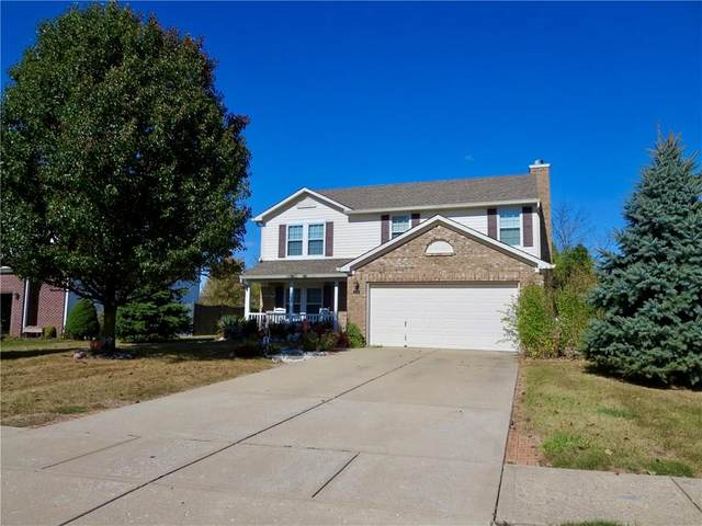 4726 W Stonehaven Lane, New Palestine, IN 46163 (MLS #21746014) :: Mike Price Realty Team - RE/MAX Centerstone