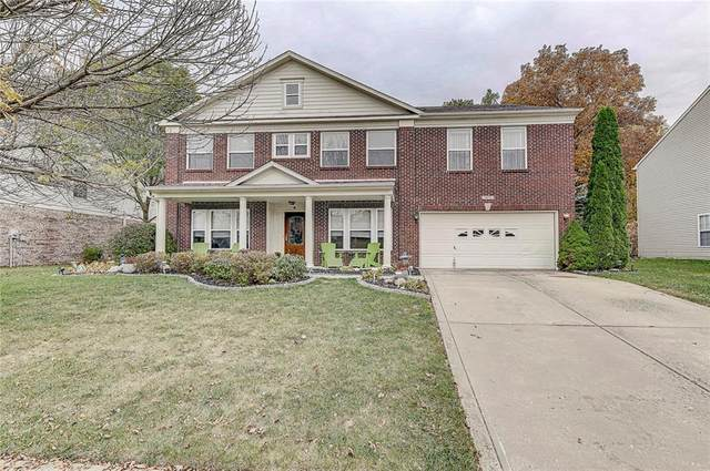 5873 Magnificent Lane, Indianapolis, IN 46234 (MLS #21746168) :: The ORR Home Selling Team