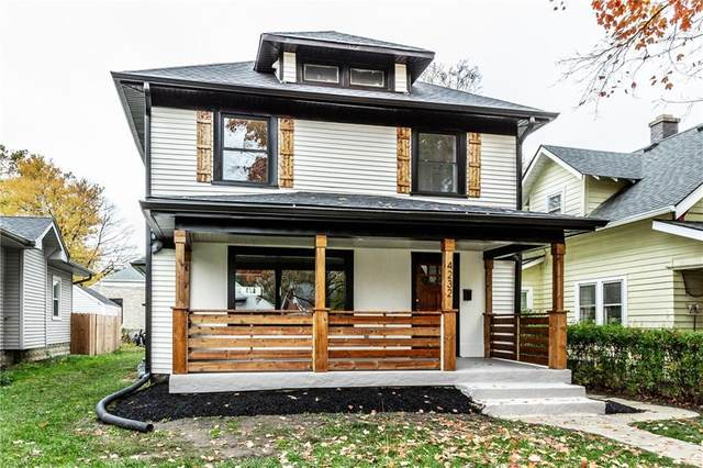 4232 Sunset Avenue, Indianapolis, IN 46208 (MLS #21746253) :: The ORR Home Selling Team