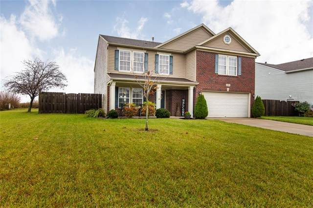 1280 King Maple Drive, Greenfield, IN 46140 (MLS #21746839) :: The Evelo Team
