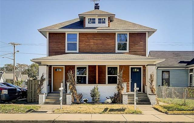 1707 S East Street, Indianapolis, IN 46225 (MLS #21748300) :: AR/haus Group Realty