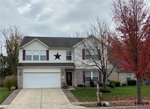 12279 Wolf Run Rd., Fishers, IN 46060 (MLS #21748347) :: The Evelo Team