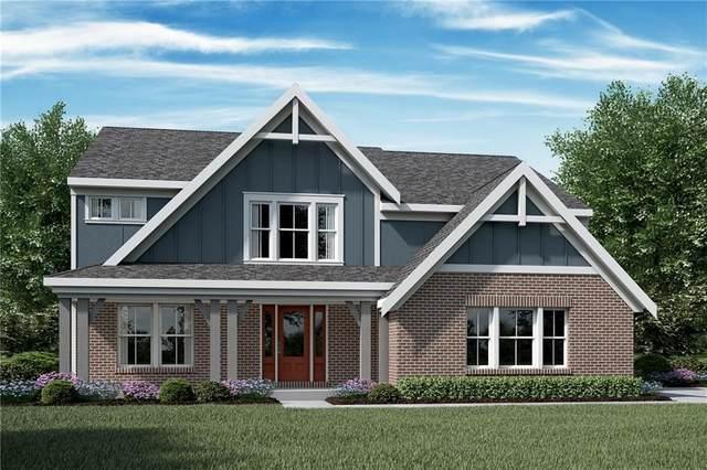 8374 Treeline Lane, Mccordsville, IN 46055 (MLS #21748451) :: The ORR Home Selling Team
