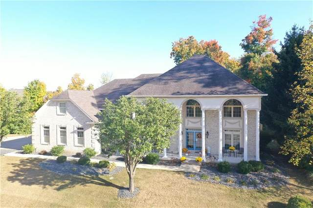 5745 Hickory Woods Drive, Plainfield, IN 46168 (MLS #21748453) :: The Evelo Team