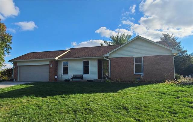 423 Maria Drive, Greenwood, IN 46143 (MLS #21748775) :: The ORR Home Selling Team