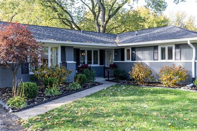 5603 Skyridge Drive, Indianapolis, IN 46250 (MLS #21749174) :: The ORR Home Selling Team