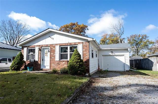 4456 N Longworth Avenue, Indianapolis, IN 46226 (MLS #21749249) :: The ORR Home Selling Team