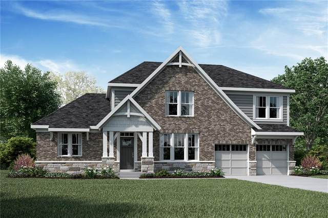 1422 Gatewick Drive, Greenwood, IN 46143 (MLS #21749449) :: The ORR Home Selling Team