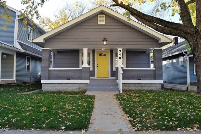 948 N Drexel Avenue, Indianapolis, IN 46201 (MLS #21749453) :: Anthony Robinson & AMR Real Estate Group LLC
