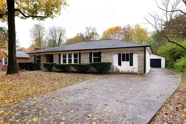 6036 Riverview Drive, Indianapolis, IN 46208 (MLS #21749636) :: The ORR Home Selling Team